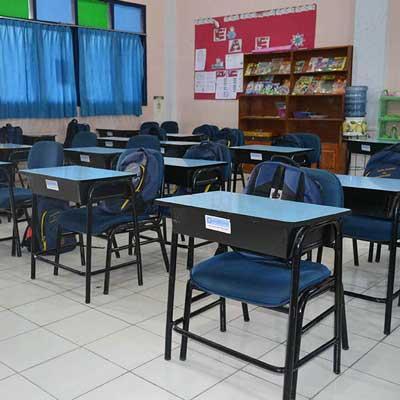 Meja Kursi Sekolah Modern Single