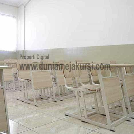 meja bangku sekolah besi
